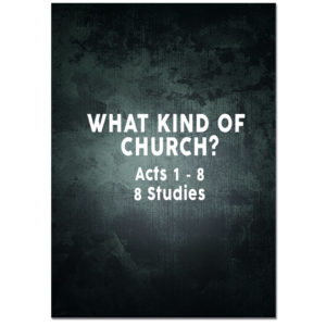 Acts 1 - 8 Study Guide